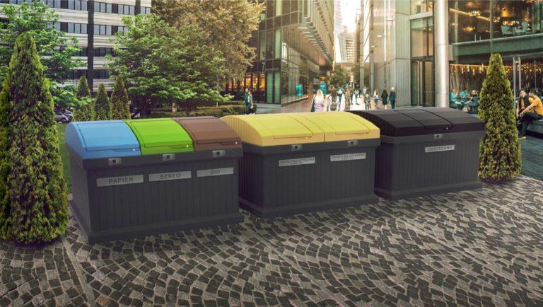 Trwałe i estetyczne kosze na śmieci do zastosowania na osiedlach