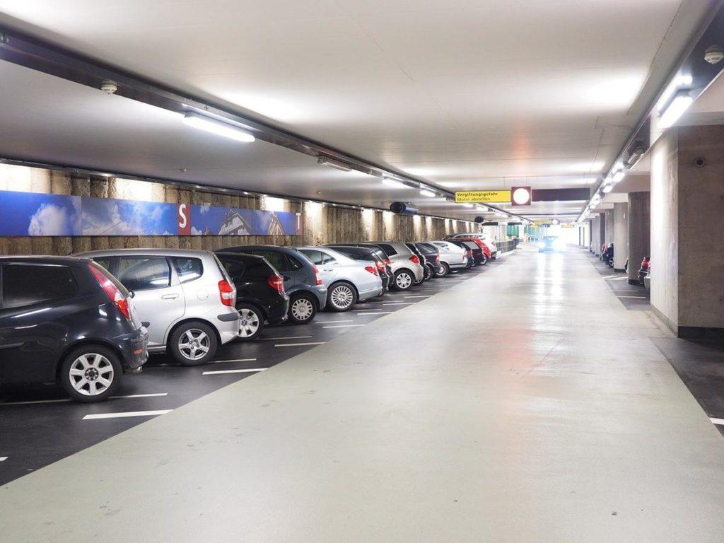 Kraków Balice parking